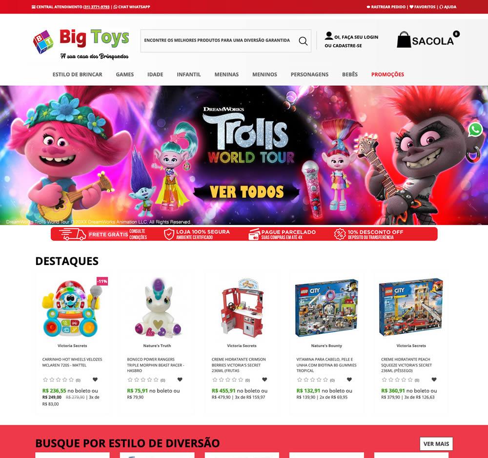 Brinquedos Big Toys