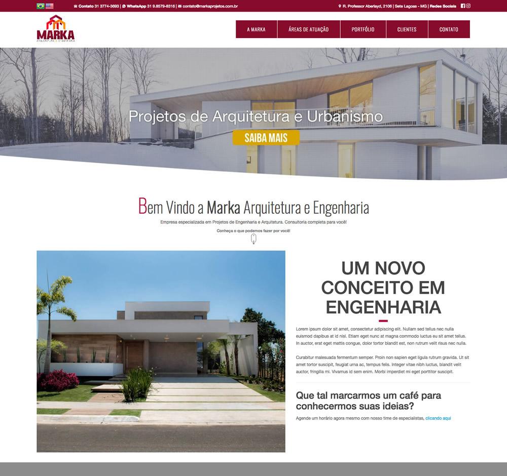 Marka Projetos - Arquitetura & Engenharia