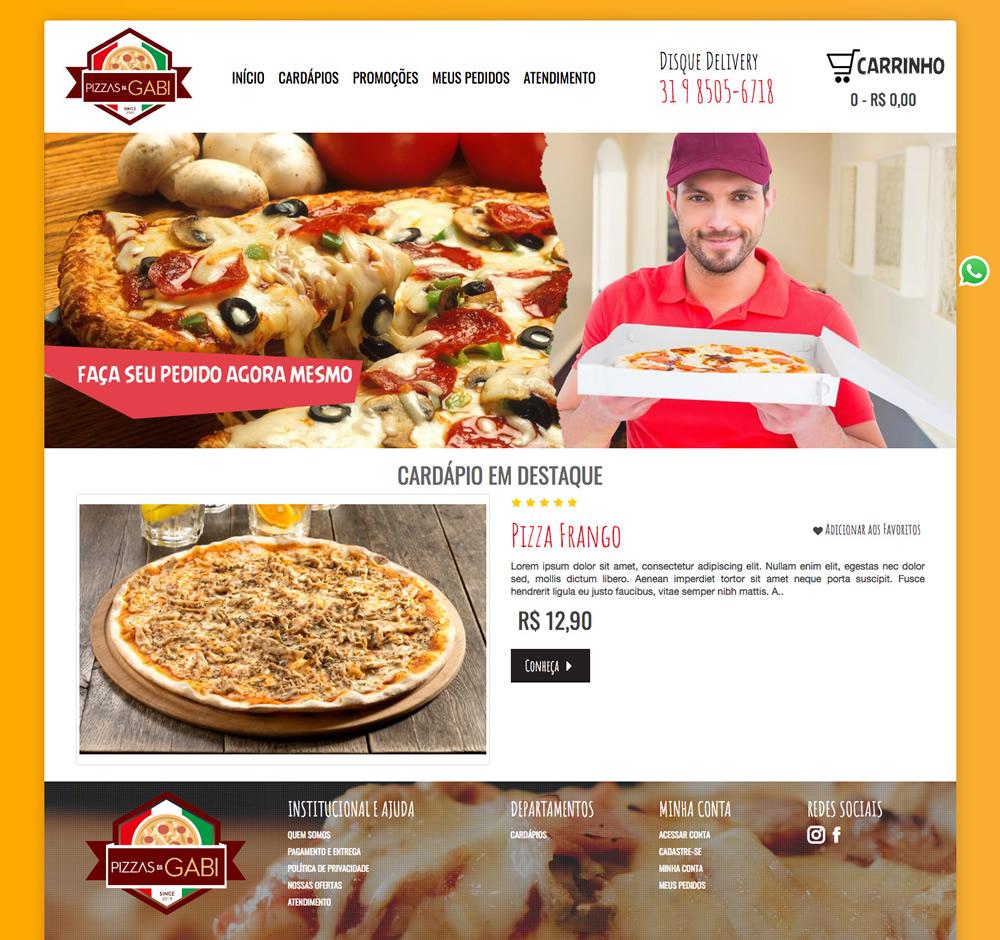 Pizzas da Gabi
